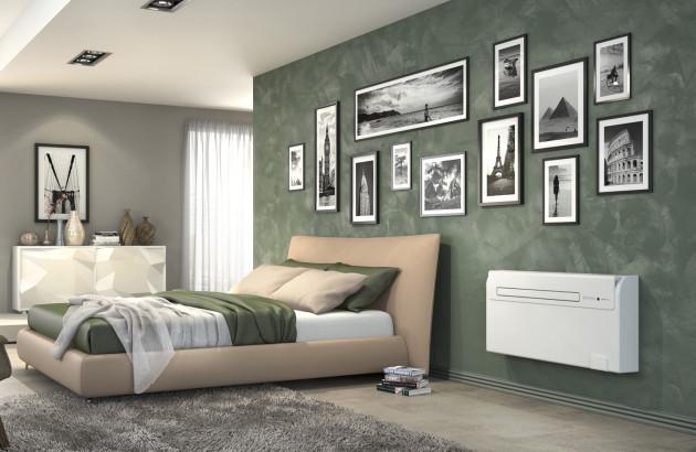 climatiseur Unico Air Inverter chambre verte