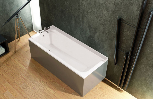 Tablier de baignoire gris