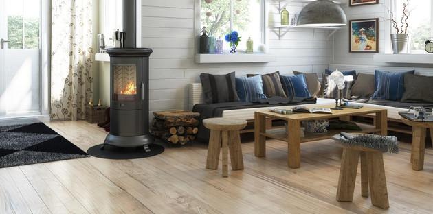 Installer un chauffage à bois dans un appartement