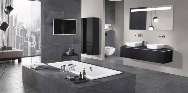 Aménager une grande salle de bain