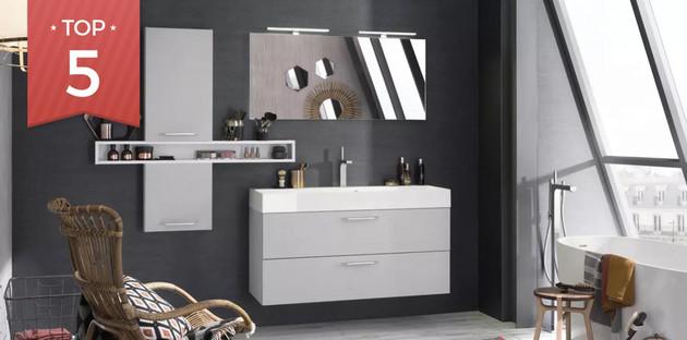 Top 5 de meubles de salle de bains design et ultra pratique