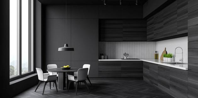 Comment utiliser la couleur noire dans la cuisine?