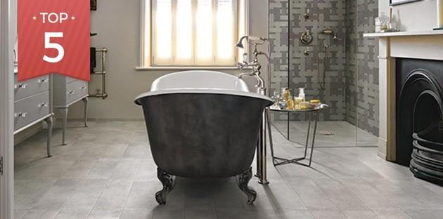 Top 5 des carrelages pour la douche