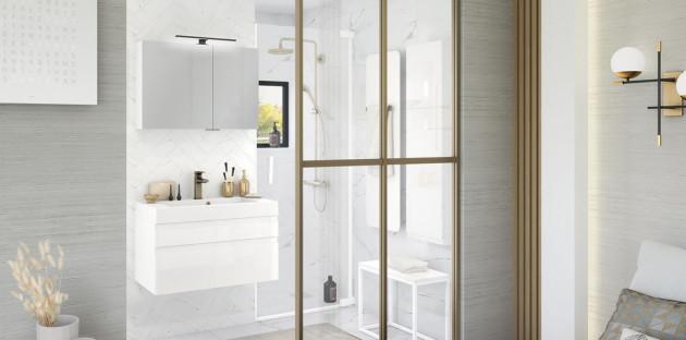 Meuble de salle de bain Inspiration 80 de Delpha