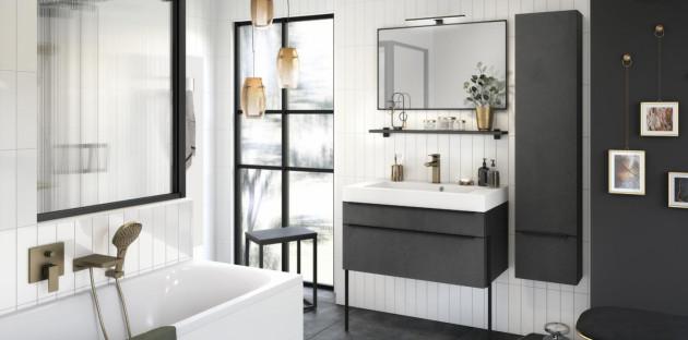 Meubles de salle de bains de qualité Inspiration 90 de Delpha