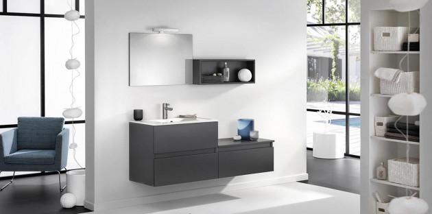 Meuble de salle de bains D Motion par Delpha