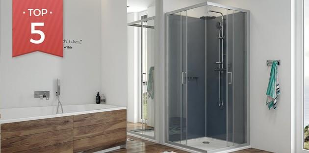 Top 5 des cabines de douche spéciales petits espaces