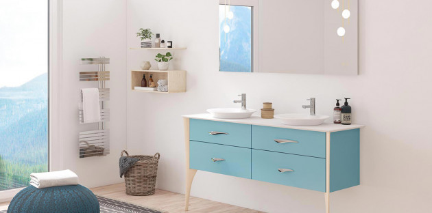Meuble de salle de bains Organic par Decotect