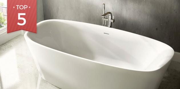 Baignoire ilot Dea de Ideal Standard salle de bain