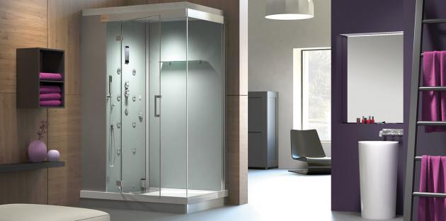 Cabine de douche relaxante Wedi