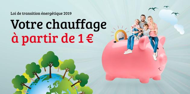 Chauffage pour 1€