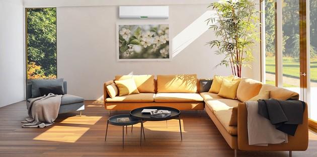 unité de climatisation murale dans le salon