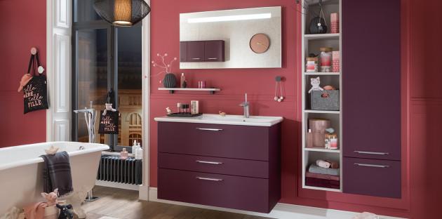 meuble violet