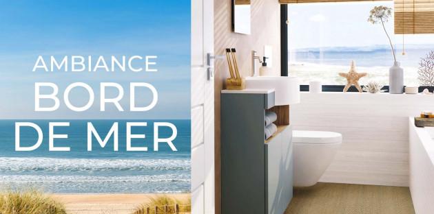 Ambiance bord de mer pour la creation de votre salle de bain