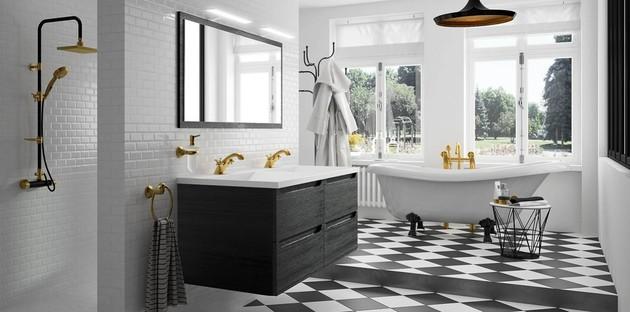 Salle de bains classique noire Feeling de Cedam