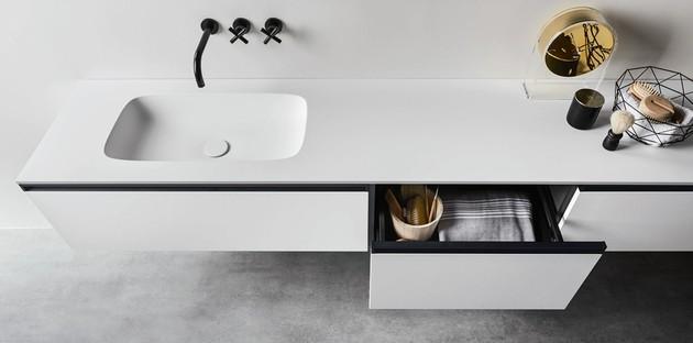 Rangements meuble de salle de bains