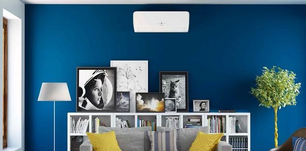 la climatisation posée sur le mur