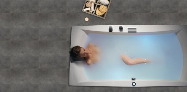 baignoire balnéo pour se détendre