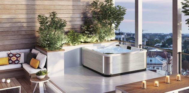 Installation spa extérieur Kinedo
