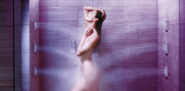 Hydrothérapie sous la douche