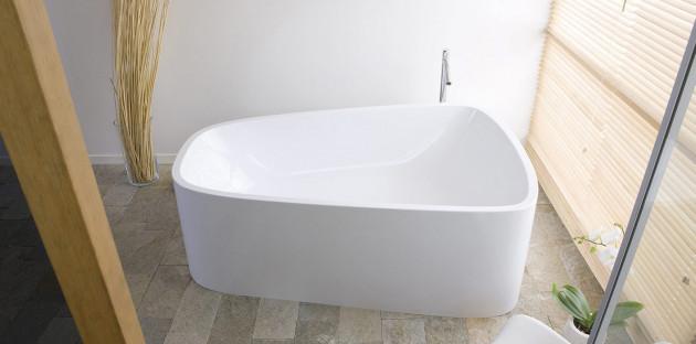 La baignoire asymétrique, esthétisme et gain de place