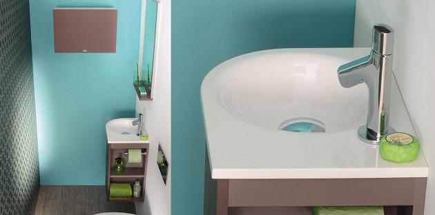 Le lave-mains: pratique dans l'espace toilettes