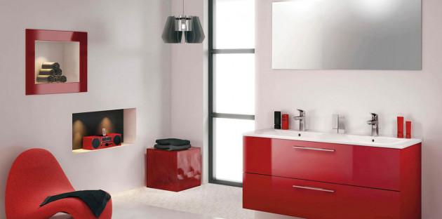 Les 5 couleurs à utiliser pour donner du peps à votre salle de bains