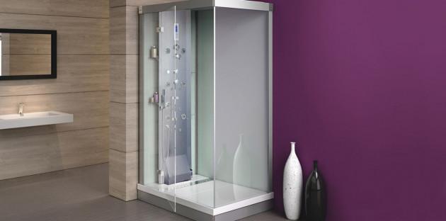 Les cabines de douche intégrales