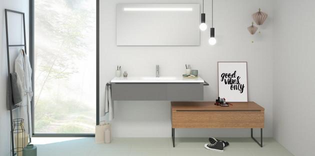 Meuble de salle de bains minimaliste