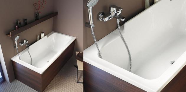 Les différentes matières de baignoires