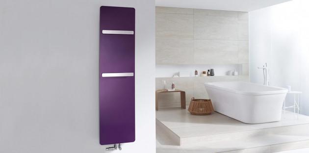 Radiateur violet