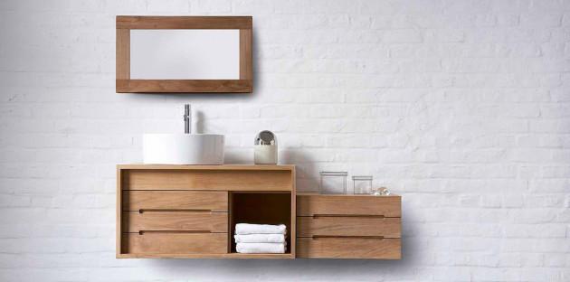 Meubles de salle de bain: suivez le ton!