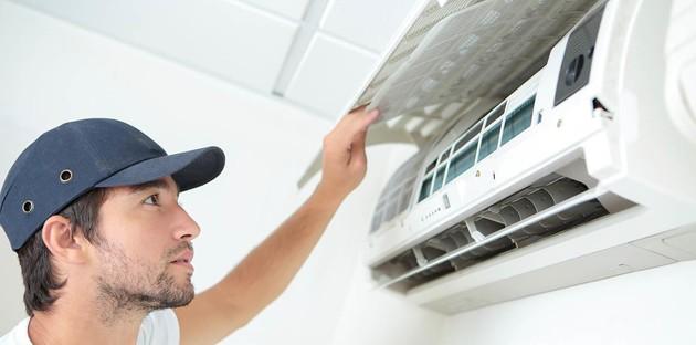 Mise en service de la climatisation par un professionnel