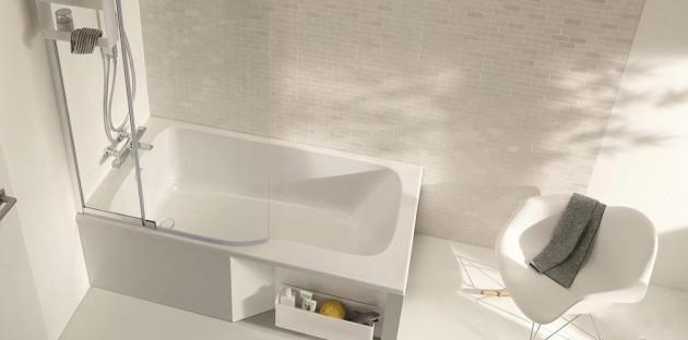Problèmes de rangement: comment mettre sa baignoire à contribution?