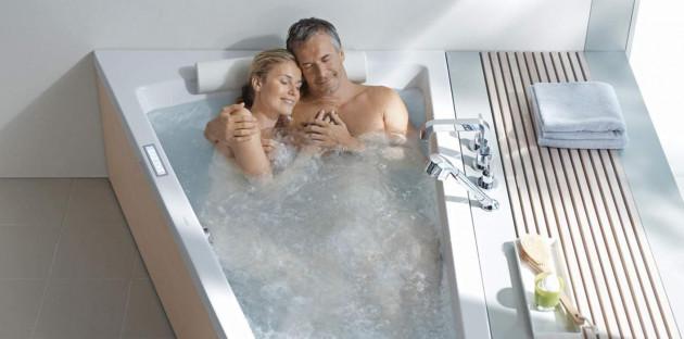 Baignoire pour deux personnes