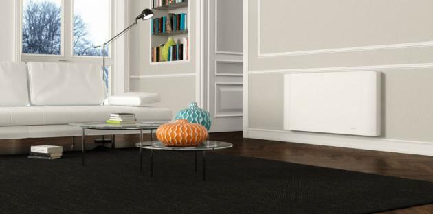 Ventilo-convecteur dans un salon