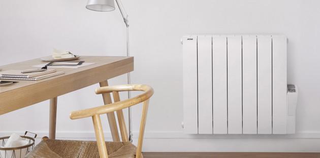 Radiateur horizontal blanc