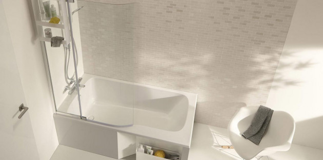 Baignoire pour une petite salle de bains