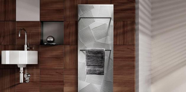 Radiateurs tendance décoration scandinave: finitions naturelles