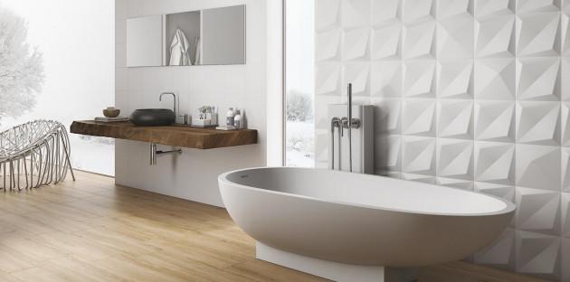 Je rénove ma salle de bains: Carrelage, peinture, béton ciré ou faïence?