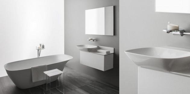 Salle de bains épurée nouvelle tendance