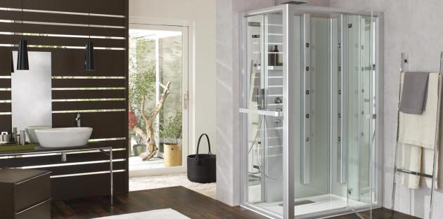 Cabine de douche Leda pluriel fermée