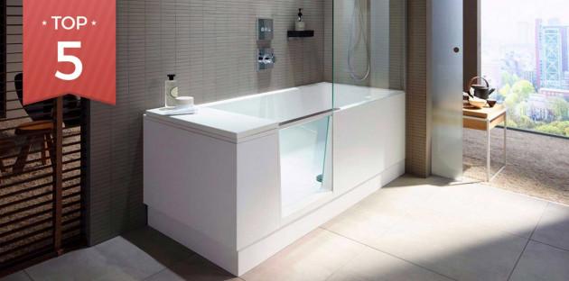 Top 5 des baignoires rectangles pour votre salle de bains