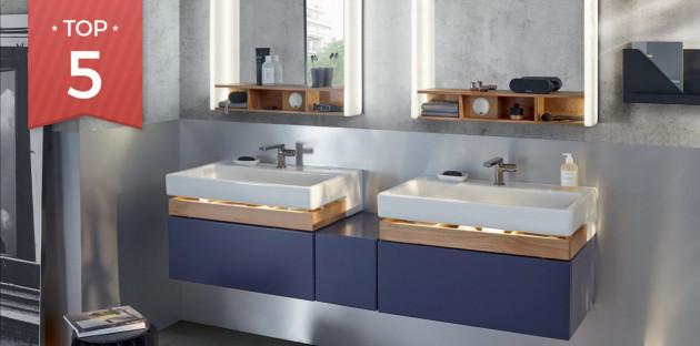 Top 5 des meubles pour une salle de bains familiale