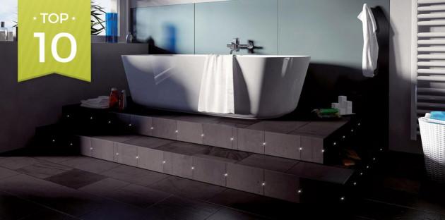 Luminaires salle de bains tendance