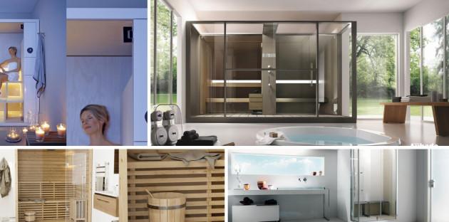 Sélection de sauna et hammam pour salle de bain détente