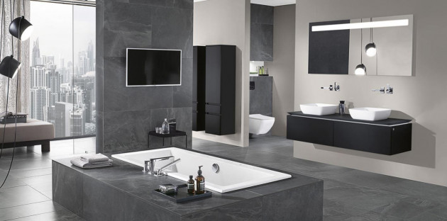 Grande salle de bains rénovée!