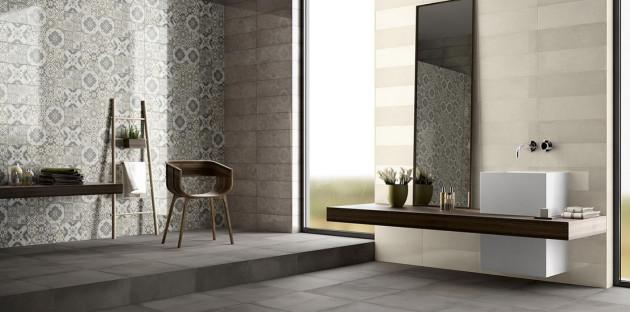 Une salle de bains moderne grâce au carrelage