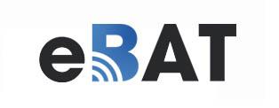 Logo e.bat blanc
