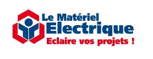Logo Materiel Electrique Blanc